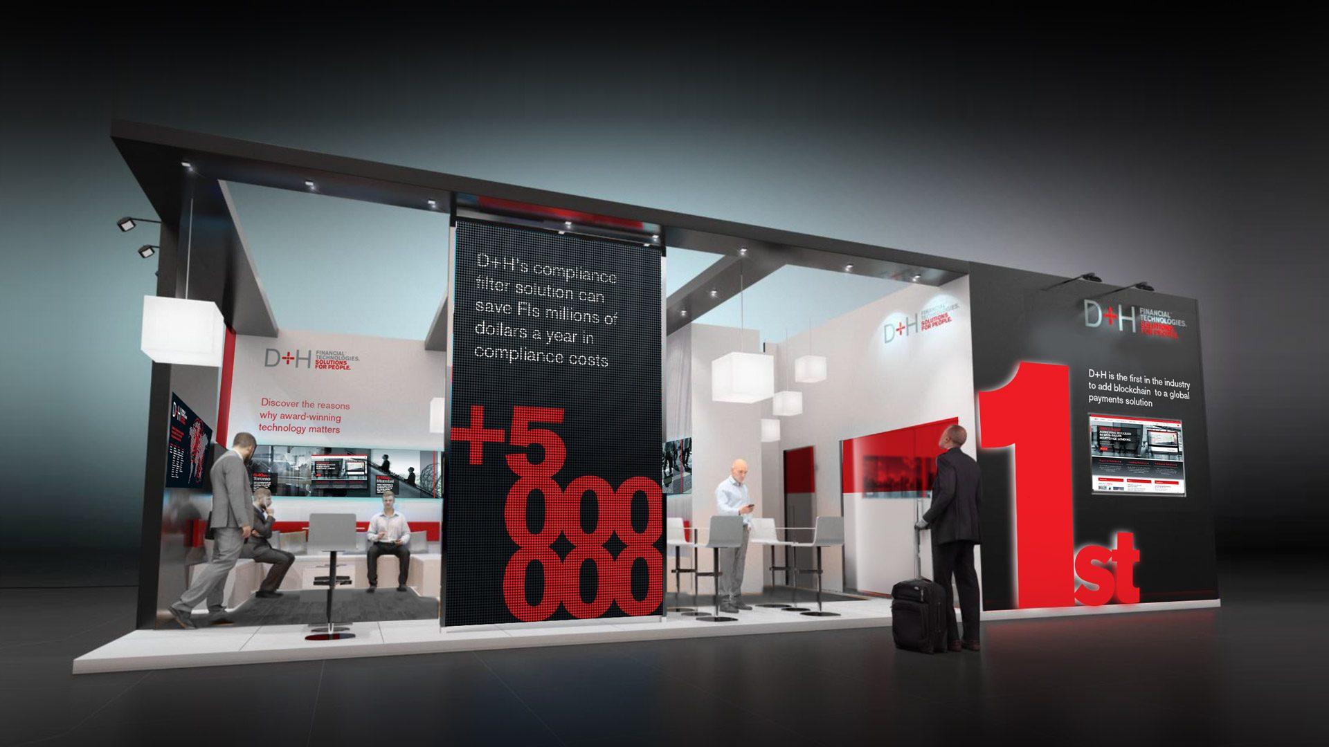 D Exhibition Stand : D h exhibition stand — red door